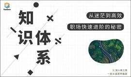 北京场 3月14日 知识体系工作坊 |  焦虑迷茫?职场快速升职的秘密!