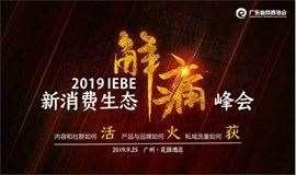2019 IEBE(第二届)新消费生态解痛峰会