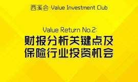 西溪会·Value investment Club | Value Return No.2