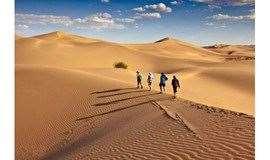 中秋/国庆:库布齐沙漠,徒步穿越沙漠,代租露营装备