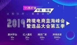 2019 跨境电商蓝海峰会