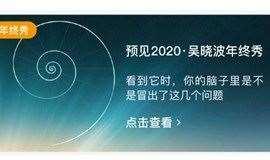 【2020吴晓波频道年终秀】来海边,拾起信心