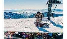 【崇礼滑雪课程】单板一级滑雪教学课程,不摔跤学会滑雪才是正路