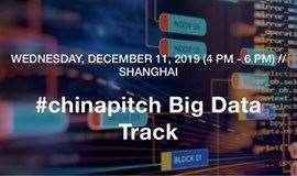#chinapitch Big Data Track 大数据路演日