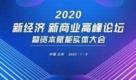 2020新经济新商业高峰论坛暨资本赋能实体大会