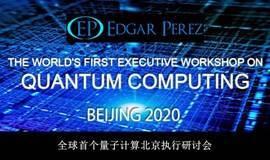 THE WORLD'S FIRST EXECUTIVE WORKSHOP ON QUANTUM COMPUTING - 全球首个量子计算和人工智能执行研讨会