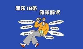 特殊时期浦东政府支持服务企业18条措施政策解读
