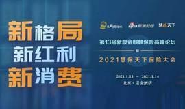2021慧保天下保险大会暨第十三届新浪金麒麟保险高峰论坛