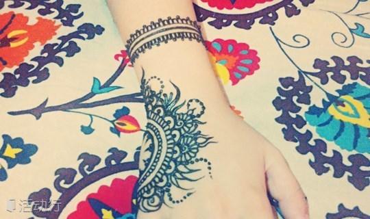 汉娜——被祝福的印度手绘