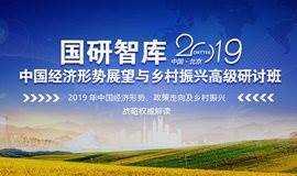 2019年中国经济形势、政策走向及乡村振兴战略权威解读