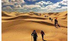 清明4.4-7 库布齐沙漠轻装徒步穿越,黄河第一湾 老牛湾 乾坤湾,户外休闲活动