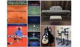 文武双全-网球乒乓球羽毛球壁球钢琴吉他架子鼓唱歌拍照培训