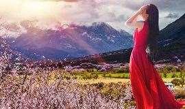 3.25-31/4.1-7日两期【西藏·林芝桃花节·7日】林芝-布达拉宫-雅鲁藏布-羊湖-巴松措-波密-然乌湖-米堆