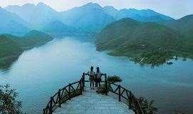 周末印象•易水湖|三月开园免门票-北方小桂林-太行水镇休闲一日活动