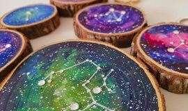 【手工课】Starry starry night~制作一颗属于自己的宇宙小星球吧!