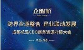 企鹊桥•成都总监CEO资源对接百人大会