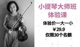 西班牙巴塞罗那歌剧院(利赛欧大剧院)交响乐团二提琴声部副首席、职业音乐家小提琴大师班体验课