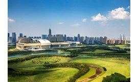 4月20日徒步钱江公园,灌木迷宫、音乐喷泉、婚庆广场