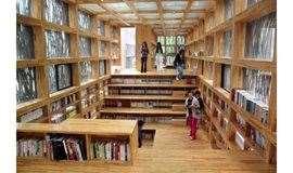 1日|全球最美18家图书馆之一 篱笆书屋 | 徒步最美神堂峪山水栈道