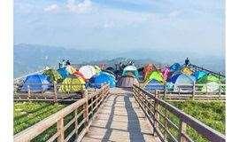 周六-日:古冰川遗址冰山梁露营,海拔2200米高山草甸,代租露营装备(2日)