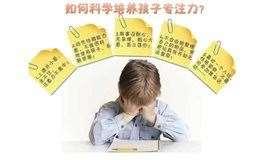 【朱泽华老师专题讲座】专注力与家庭教育
