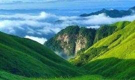 端午假期江西武功山人间仙境、天上草原徒步、观云海日出日落奇观 三天游
