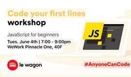#AnyoneCanCode Workshop: Code your first lines 全名编程工作坊:写下你的第一行代码