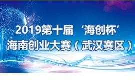 """2019第十届""""海创杯""""海南创业大赛(武汉赛区)"""