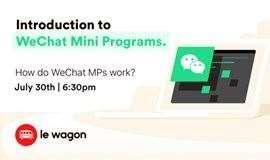 #AnyoneCanCode Workshop - WeChat Mini-programs 101 #全民编程#工作坊 - 微信小程序101