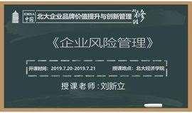 北大EMBA研修班-企业风险管理课程