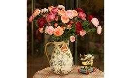 居家花艺 | 简单插瓶花,诗意整个家