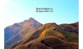 1天游【周末】惠州大南山大草坡穿越、满山遍野芦苇荡下摄影、全程茅草路山野徒步、遇见醉美日落、在路上、才能感受沿途美景