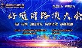 武汉站《好项目路演大会》十一月开始报名啦!