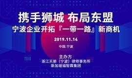 携手狮城 布局东盟 宁波企业开拓「一带一路」新商机 交流会议