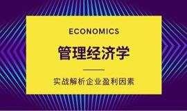 11.23《管理经济学》企业运营和管理中的经济学思维,实战解析企业盈利关键因素