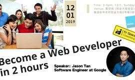Become a Web Developer in 2 hours
