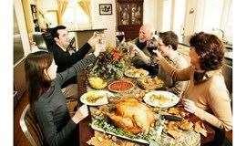 感恩節,講故事,吃烤雞,狼人殺