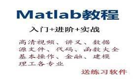 Matlab视频教程 视频讲义 数学建模 大数据挖掘matlab视频教程