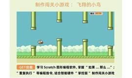 小学娃免费编程开发游戏【飞翔的小鸟】,线上直播项目课,自己创造的游戏更有成就感!