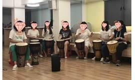 5.30 迷波隆非洲鼓课:70元一个月的音乐课,适合想坚持学习一门乐器的人