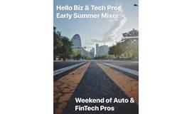汽车与金融业初夏酒会 Hi Biz & Tech Pros 2020 Summer Mixer - AUTO & FINTECH