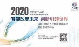 深圳(国际)人工智能展开幕式暨数字经济峰会