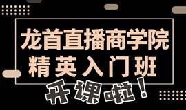 精英入门班—龙首直播商学院