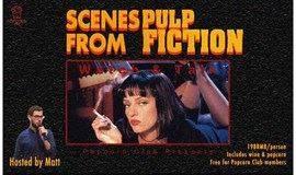 来点爆米花和葡萄酒,让我们赏析Pulp Fiction!