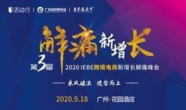 解痛峰会   2020 IEBE跨境电商新增长解痛峰会