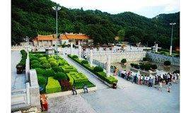 8月16日登祈福圣地凤凰山森林公园,游览凤岩古庙