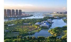 周末认识新朋友,探索五缘湾湿地公园水上迷宫(厦门)
