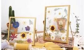 10.22 迷波隆干花相框DIY:收藏你的美丽,定格玫瑰色花香,不让美好悄悄成为过往