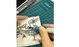 活动预告丨纹饰的艺术——橡皮章刻印工作坊
