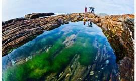 11月29日惠州黑排角海岸线穿越、漫步无人沙滩捡贝壳、打卡广东天空之境、赏礁石观巨浪、滩涂一场夕阳、户外摄影 一日游